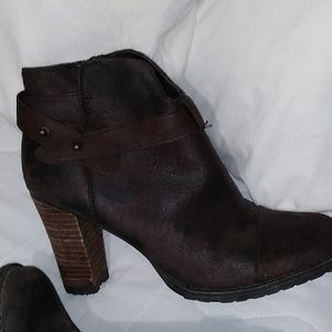 Crown Vintage Shoes - CROWN VINTAGE Women's brown ankle boots